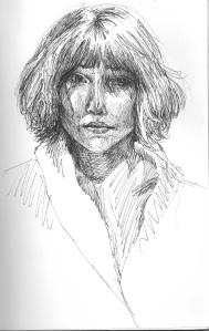 Sharon Holiner Self Portrait