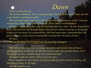 Dawn by Barry Charman