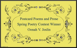 Placard 2 Poetry Contest