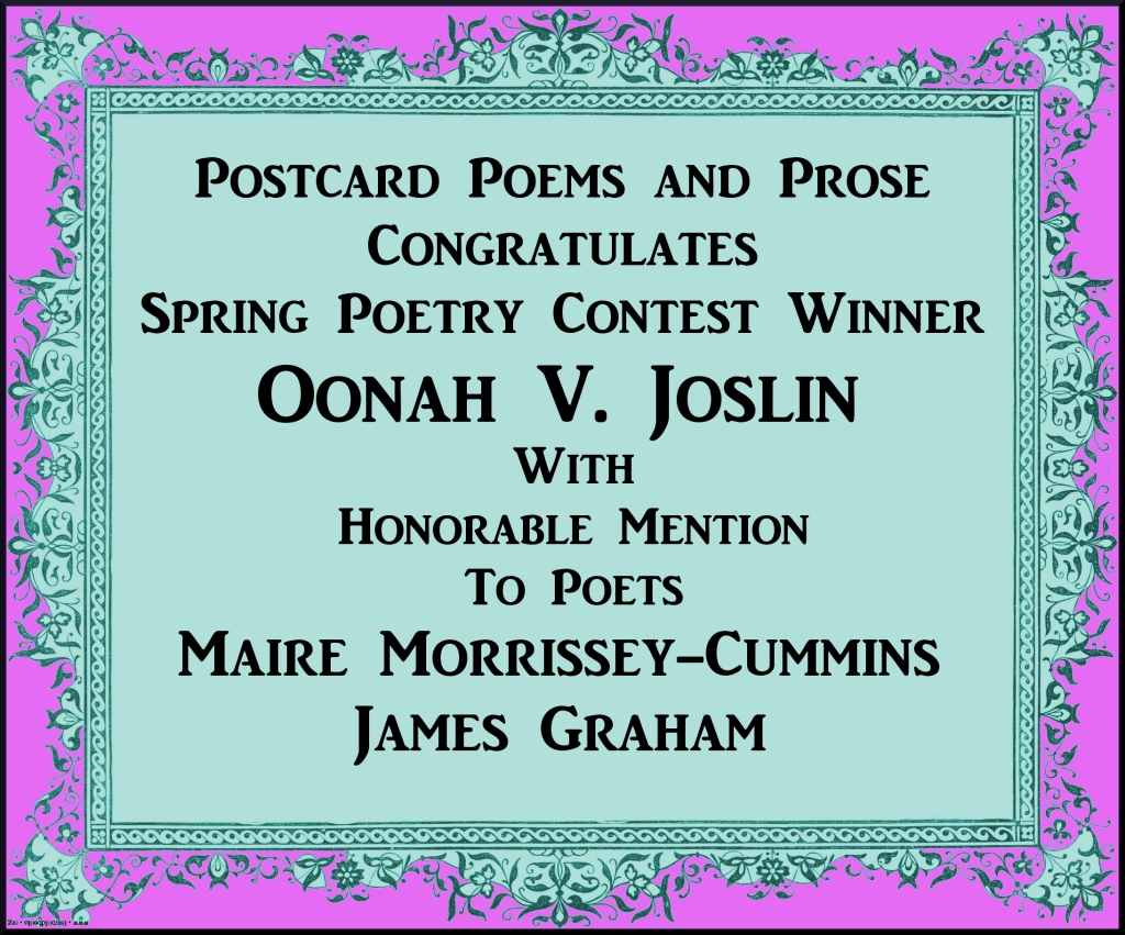 Poetry Contest Winners