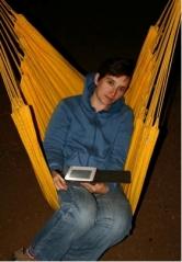 Kindle, Irena's favorite pet.