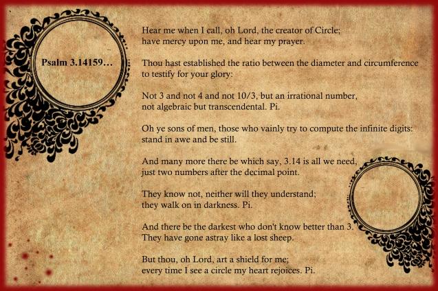 Psalm Pi 2