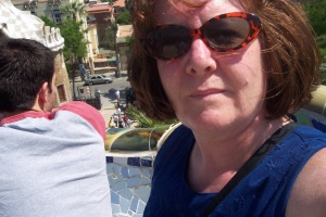 Taken at Parc Güell in Barcelona, which is full of work by Gaudi.