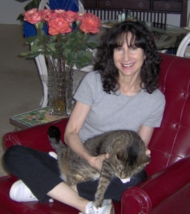 Author Nanette Avery and Pebbles