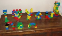 """Some households are fluent in more than one tongue. The author's children speak """"Lego…"""""""