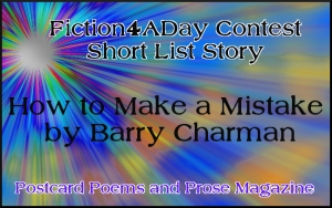 Fiction4ADay Barry