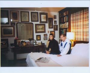 The bedroom photo.