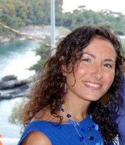 Author Joanna Eleftheriou.