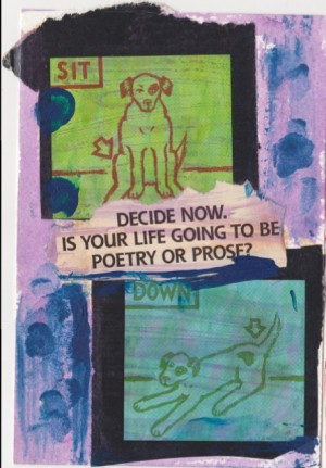 Collage Poem by Alexis Rhone Fancher