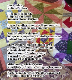 Quilt and Photo by Julie Morehouse