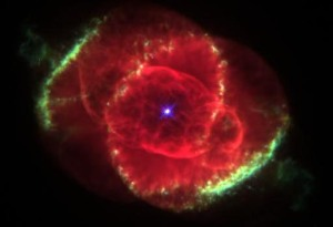 The Real Me. (Actually a Hubble spacecraft photo of the Cat's Eye Nebula, 1995)