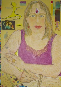 Portrait of the author, by Helen Redman.