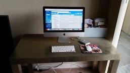 Dallas's writing desk.