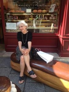 Marian, Rue Cler, 2014.