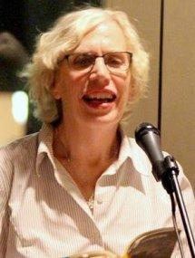 Valerie Nieman reading at East Bay Meeting House, Charleston SC in 2015