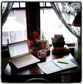 Writing space.