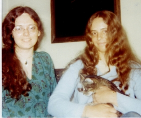 Ingrid & Dana July 1972