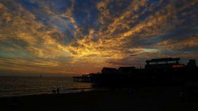 Redondo Pier sky