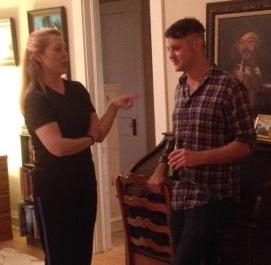 Rebecca and Eric